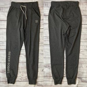 Better Bodies Gray Joggers. Size Small.